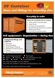 20' Container - Heizmann AG