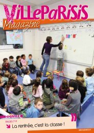 Magazine - Mairie de Villeparisis