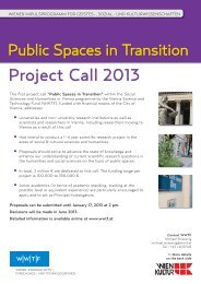 Project Call 2013 - Wwtf.at
