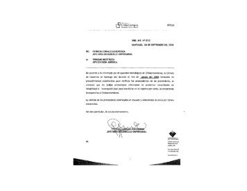 Resolución Proveedores Inscritos Agosto 2008 - Chileproveedores
