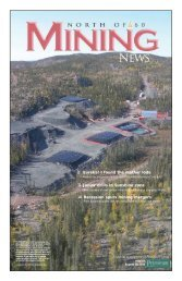 North of 60 Mining News - for Petroleum News
