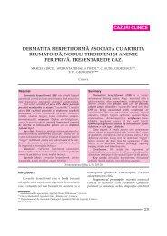 Dermatita herpetiforma asociata cu artrita reumatoida