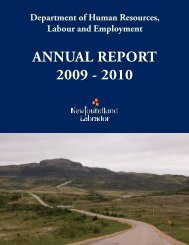 annual report 2009 - Department of Advanced Education and Skills ...