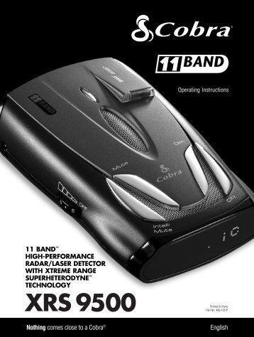 XRS 9500 - Cobra Electronics