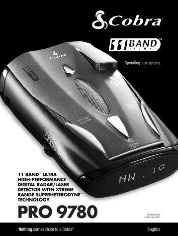 Owners Manual - Buy Radar Detectors