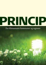 For klimasmarte kommuner og regioner - Energi PRINCIPS