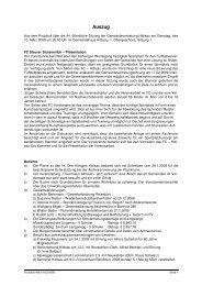 Protokoll 44b 10-03-2009 - Hittisau