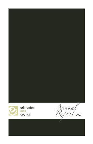 Untitled - Edmonton Arts Council