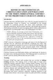 Minutes of the Thirty-Third General Assembly of the Presbyterian ...