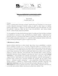 M. Paleček - Pojem nesouměřitelnosti v sociálních vědách