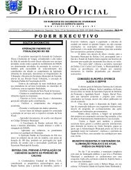 Diário Oficial nº 2.049 - 03 de novembro (Segunda-feira) - 184Kb