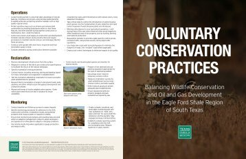 Balancing Wildlife Conservation and Oil and Gas Development in ...