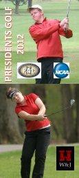 presidents golf 2012 presidents golf 2012 - Washington & Jefferson ...