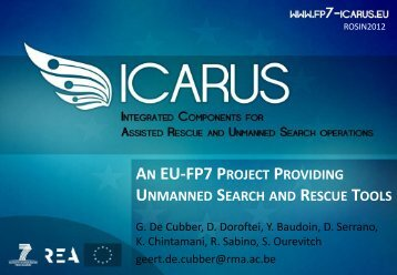 ICARUS - Unmanned Vehicle Centre