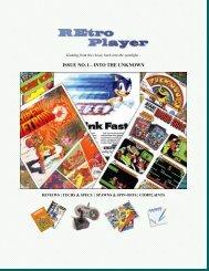 REtro Player Magazine - Issue #1 (DEMO) - Lair of Blades