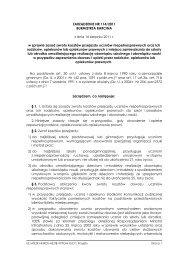 ZARZĄDZENIE NR 114/2011 BURMISTRZA BARCINA z dnia 16 ...