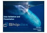 11 Data Validation and Presentation - EMEC