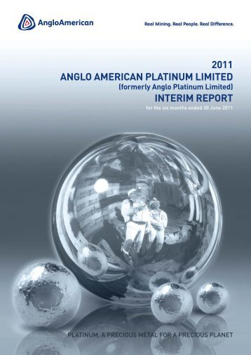 Interim Report - Anglo American Platinum