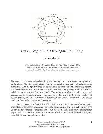 The Enneagram - Esonet.org