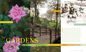 """to read our June/July 2013 feature """"Gardens for All Seasons."""""""