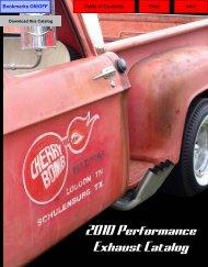 Performance Exhaust Catalog - IMCO - International Muffler Company