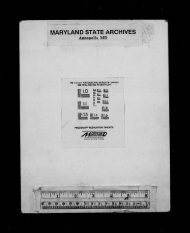 Index to Birth Record - Maryland State Archives