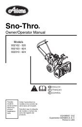 Ariens Sno-Thro and Lawn Mower Spindle Shaft with Zerk 53115100