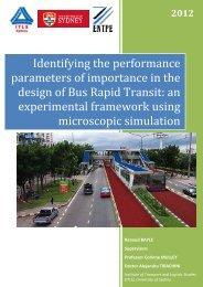 full report - Across Latitudes and Cultures – Bus Rapid Transit