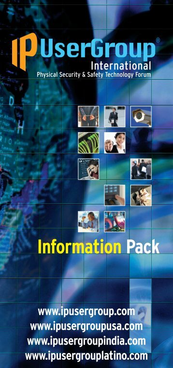 IPUG leaflet 2012 - IP UserGroup