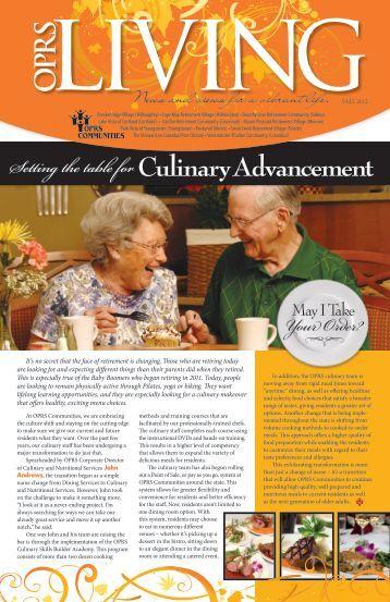 O PR S - Ohio Presbyterian Retirement Services