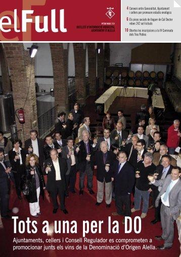 el full 250 maig 2009 - Ajuntament d'Alella