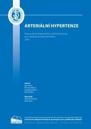 ARTERIÁLNÍ HYPERTENZE - Společnost všeobecného lékařství
