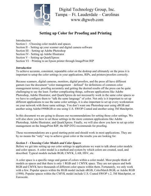 Color Management for Prepress-Proofing pdf