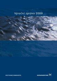Výroční zpráva 2009 - Grundfos