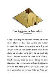Das ägyptische Medaillon - AWO OV Neuss e. V.