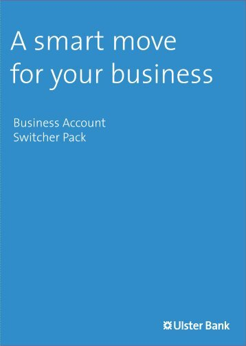 Business Account Switcher Pack - Ulster Bank