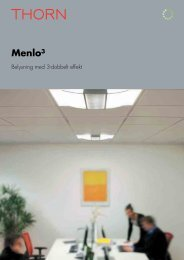 Download Menlo³ Brochure [PDF/4MB] - THORN Lighting