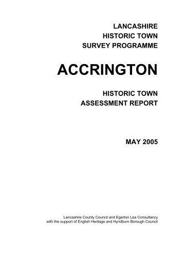 ACCRINGTON - Lancashire County Council