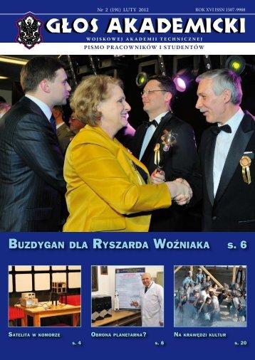 buzdygan dla ryszarda woźniaka - Wojskowa Akademia Techniczna