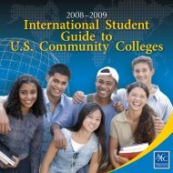 0809sg - American Association of Community Colleges