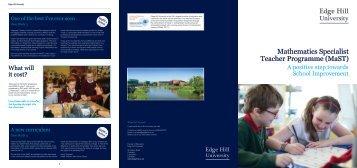 MaST Brochure