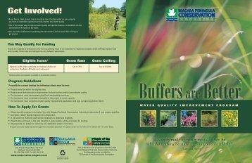 Buffer Brochure - Niagara Peninsula Conservation Authority
