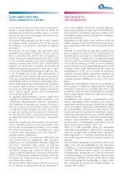 Ricambio dell'aria negli ambienti di lavoro - Ventilazione Industriale