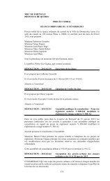 Version imprimable - Ville de Donnacona