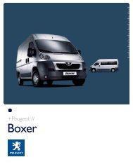 BOXER 2008 SLO.qxp - Peugeot