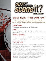 play challenge - Screenlife Games