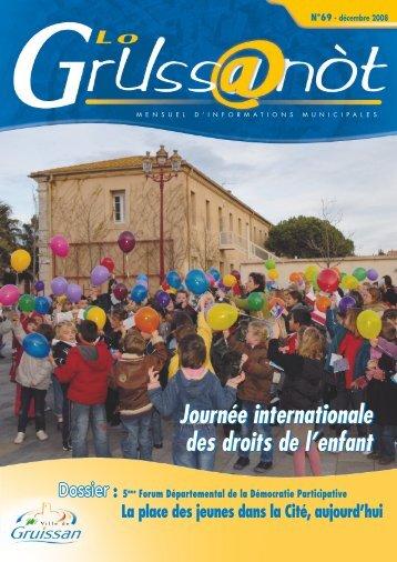 Lo Grussanòt Décembre 2008 PDF - Gruissan