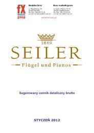 Seiler Pianos - FX-Music Group