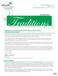Who is GSMH? Welcome to the Girl Scouts of the Missouri Heartland ...