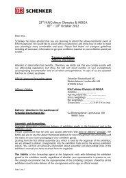 IKA shipping guideline